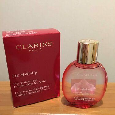 フィックス メイクアップ/CLARINS/ミスト状化粧水を使ったクチコミ(1枚目)