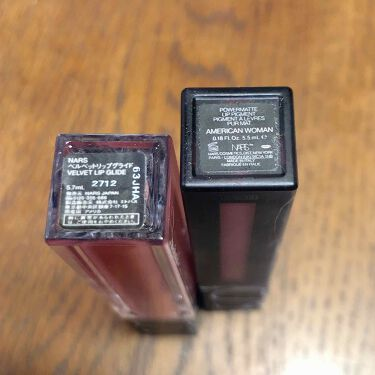 オーデイシャスリップスティック/NARS/口紅を使ったクチコミ(3枚目)