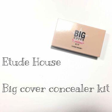 ビッグカバー コンシーラーキット/ETUDE HOUSE/コンシーラーを使ったクチコミ(1枚目)