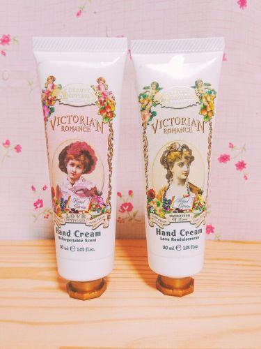 VICTORIAN ROMANCE/Beauty Cottage/ハンドクリームを使ったクチコミ(1枚目)