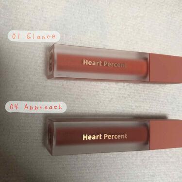 ドットオンムードベルベット Heart Percent