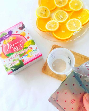 おいしいフルーツ青汁/その他/ドリンクを使ったクチコミ(4枚目)