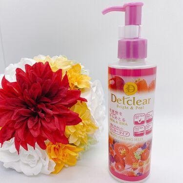 DETクリア ブライト&ピール ピーリングジェリー <ミックスベリーの香り>/明色化粧品/ピーリングを使ったクチコミ(1枚目)