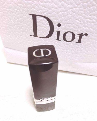 ルージュ ディオールダブル/Dior/口紅を使ったクチコミ(1枚目)