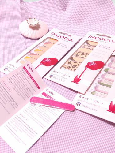 INCOCO インココ  マニキュアシート/インココ/マニキュアを使ったクチコミ(3枚目)