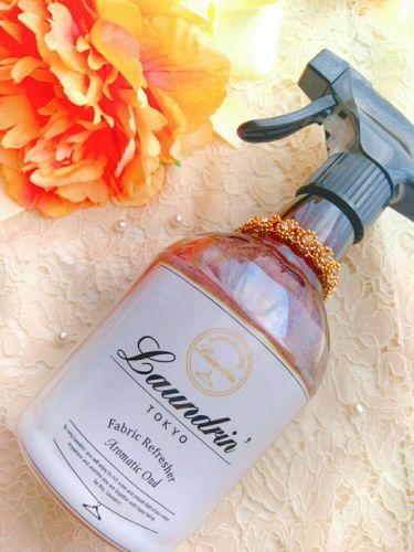 ファブリックミスト アロマティックウードの香り/ランドリン/香水(その他)を使ったクチコミ(1枚目)