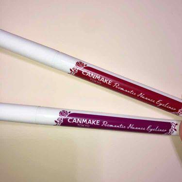 ロマンティックニュアンスアイライナー/CANMAKE/リキッドアイライナーを使ったクチコミ(2枚目)
