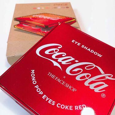 コカコーラ モノポップ アイズ/ザ フェイスショップ/パウダーアイシャドウを使ったクチコミ(1枚目)