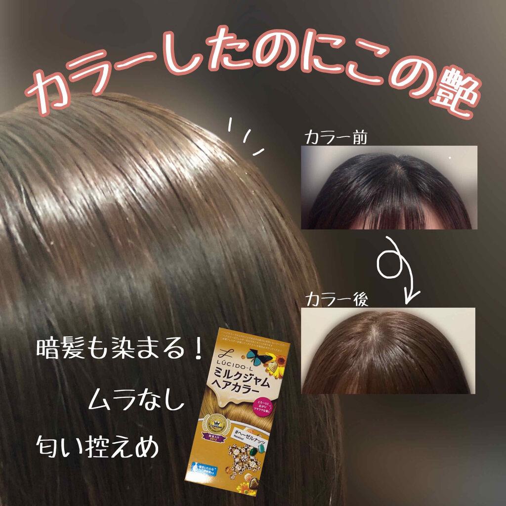 LUCIDO-L樂絲朵 牛奶果醬染髮劑