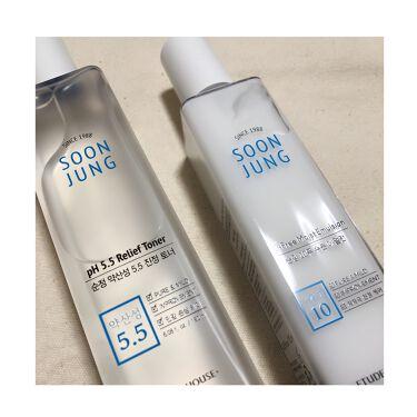 スンジョン トナー/ETUDE/化粧水を使ったクチコミ(5枚目)