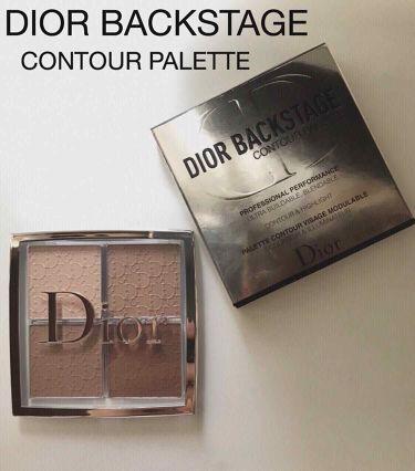 ディオール バックステージ コントゥール パレット/Dior/プレストパウダー by meg