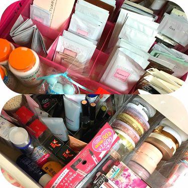 アクリルケース・横型5段・大/無印良品/その他化粧小物を使ったクチコミ(3枚目)