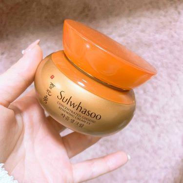 concentrated ginseng cream ex/雪花秀(ソルファス/韓国)/フェイスクリームを使ったクチコミ(1枚目)