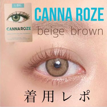 CANNA ROZE (カンナロゼ)/i-DOL (アイドルレンズ)/カラーコンタクトレンズ by mayu