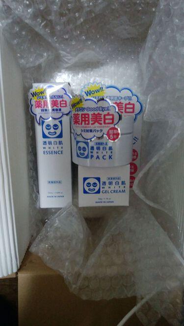ホワイトローション/透明白肌(トウメイシロハダ)/化粧水を使ったクチコミ(2枚目)