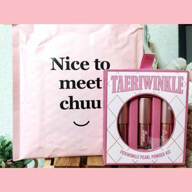 TAERI WINKLE KIT/BEIGE CHUU/パウダーアイシャドウを使ったクチコミ(1枚目)