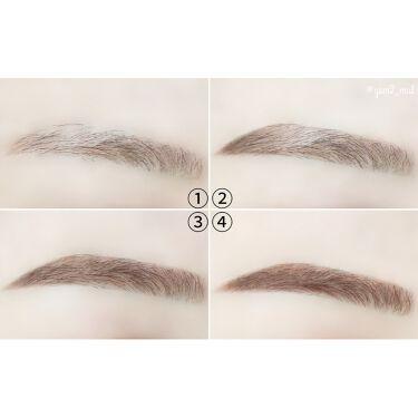 「フィルム眉カラー」 アイブロウカラー/デジャヴュ/眉マスカラを使ったクチコミ(5枚目)