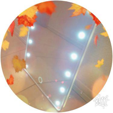 LED付ミラー(スタンドタイプ)/DAISO/その他を使ったクチコミ(2枚目)