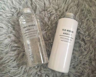 miyu︎☺︎さんの「無印良品化粧水・敏感肌用・高保湿タイプ<化粧水>」を含むクチコミ