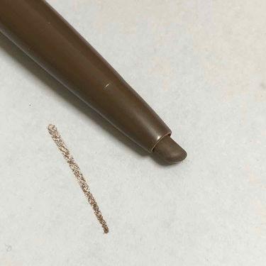 ブラシ付きアイブロウ繰り出し/CEZANNE/アイブロウペンシルを使ったクチコミ(3枚目)