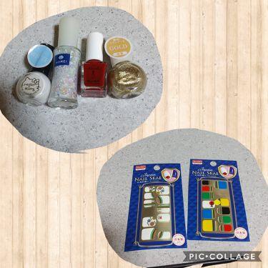 HOMEI スパンコールネイルポリッシュ/北尾化粧品部/マニキュアを使ったクチコミ(2枚目)