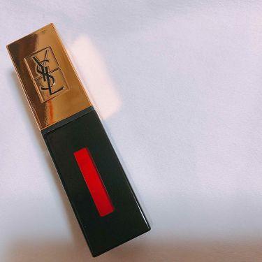 ルージュ ピュールクチュール ヴェルニ/YVES SAINT LAURENT BEAUTE/口紅を使ったクチコミ(1枚目)