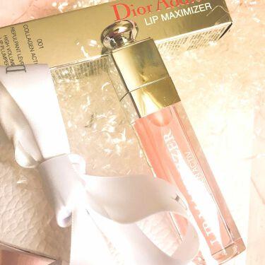 ディオール アディクト リップ マキシマイザー/Dior/リップグロス by なぁちむ