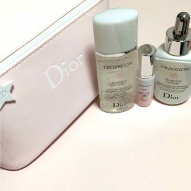 スノー ブライトニング エッセンスローション/Dior/化粧水を使ったクチコミ(2枚目)
