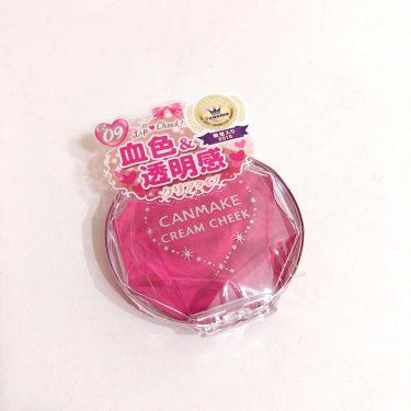 ayumiさんの「CANMAKEクリームチーク<ジェル・クリームチーク>」を含むクチコミ