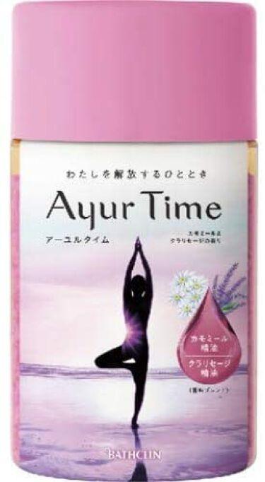 Ayur Time(アーユルタイム) カモミール&クラリセージの香り 720g