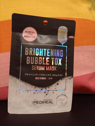 ブライトニング バブルトックス セラムマスク/MEDIHEAL/シートマスク・パックを使ったクチコミ(1枚目)
