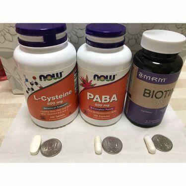 L-システイン/Now Foods/美肌サプリメントを使ったクチコミ(1枚目)