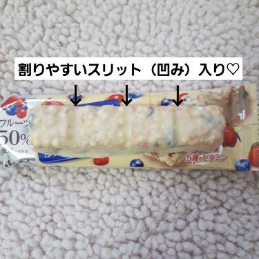 シリアルホワイト/1本満足バー/食品を使ったクチコミ(2枚目)