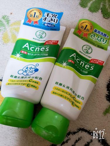 薬用クリーム洗顔/メンソレータム アクネス/洗顔フォームを使ったクチコミ(2枚目)