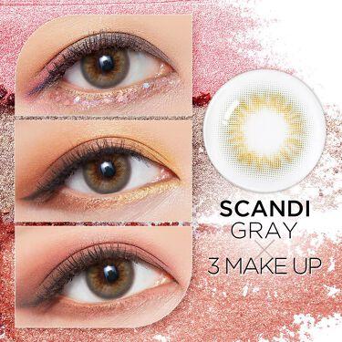 SCANDI(スカンディ)/POPLENS/カラーコンタクトレンズを使ったクチコミ(1枚目)