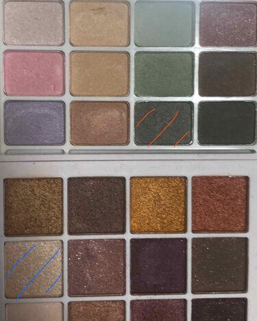 12色アイシャドウパレット/LOUJENE/パウダーアイシャドウを使ったクチコミ(4枚目)
