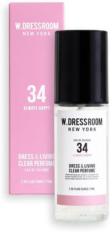 ドレス&リビング クリーン パフューム No.34 オールウェイズハッピー