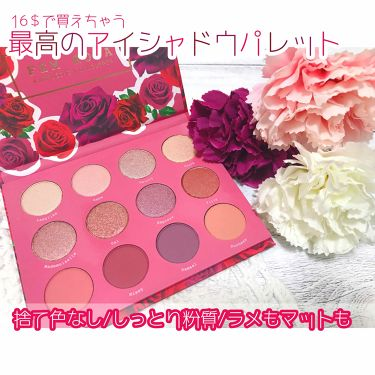 Fem Rosa Karrueche - Pressed Powder Shadow Palette - She/ColourPop/パウダーアイシャドウ by ゆう