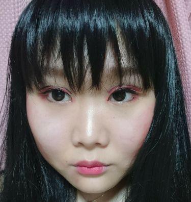 【画像付きクチコミ】私流アート和日本人形ジャパニーズドールメイク♪※画像2~3枚目は、顔の画像です(><)現代風日本人形メイクをしてみました(^_^)使ったコスメ・チーク→アピュぼのぼのクリームチークRD01・リップ→アピュぼのぼのカラーリップペンシルC...