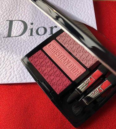 トリオ ブリック パレット/Dior/パウダーアイシャドウを使ったクチコミ(1枚目)