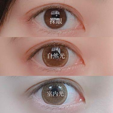 アイクローゼットワンデー スウィートシリーズ/カラーコンタクト/その他を使ったクチコミ(3枚目)