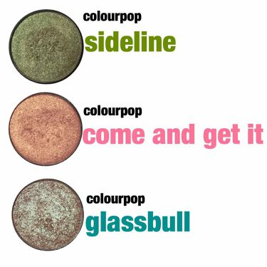 pressed powder eyeshadow /ColourPop/パウダーアイシャドウを使ったクチコミ(1枚目)