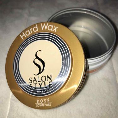 ヘアワックス (ハード)/サロンスタイル/ヘアワックス・クリームを使ったクチコミ(1枚目)