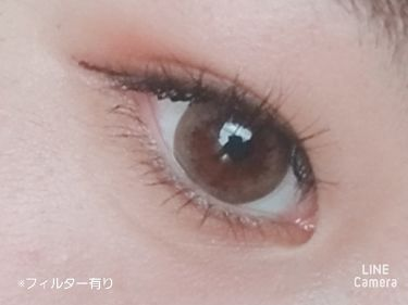 デコラティブアイズ ヴェール/Decorative Eyes/カラーコンタクトレンズを使ったクチコミ(3枚目)