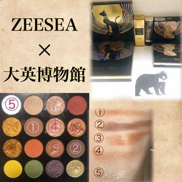 ZEESEA × 大英博物館 16 Colors Eyeshadow Tray/ZEESEA/パウダーアイシャドウ by おおや