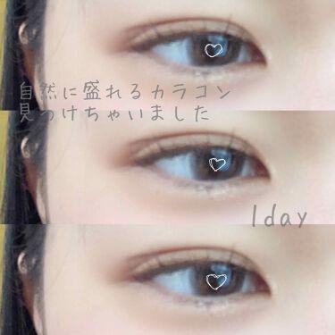 """eye closet 1day SweetSeries """"Girly""""(アイクローゼットワンデースウィートシリーズ ガーリー)/EYE CLOSET/カラーコンタクトレンズを使ったクチコミ(1枚目)"""