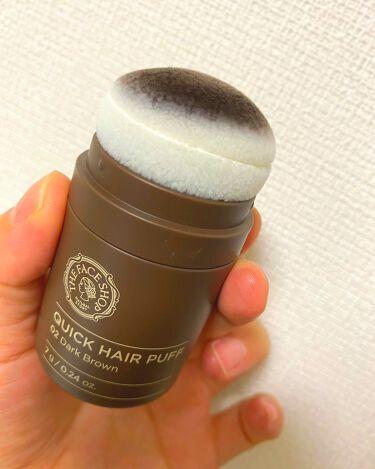 QUICK HAIR PUFF/THE FACE SHOP/頭皮ケアを使ったクチコミ(1枚目)