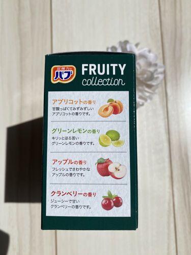 FRUITY collection/バブ/入浴剤を使ったクチコミ(4枚目)