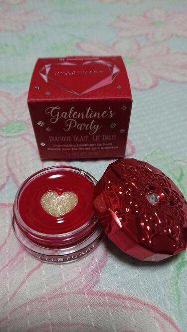 ギャレンタインズパーティー ダイヤモンド グレイズ リップバーム/JILL STUART/リップケア・リップクリームを使ったクチコミ(2枚目)