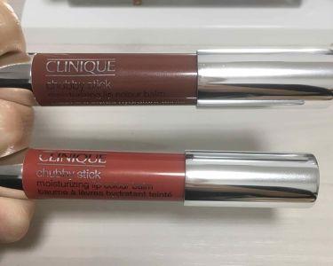 チャビー スティック モイスチャライジング リップ カラー バーム/CLINIQUE/口紅を使ったクチコミ(2枚目)
